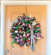 Gnome Deco Mesh Wreath Wreath
