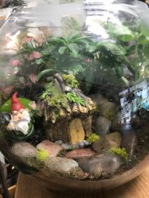 Gnome Home Terrarium