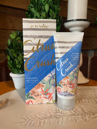 Go Be Lovely Boxed Hand Cream Citrus Crush