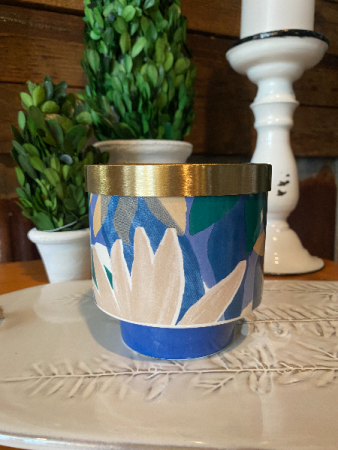 Go Be Lovely Lidded Ceramic Candle Citrus Crush