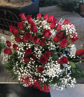 GO BIG OR GO HOME!!! 50 red roses