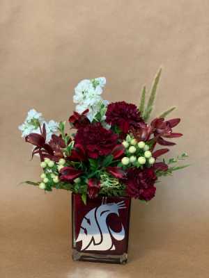 Go COUGS! Bouquet in Moses Lake, WA   FLORAL OCCASIONS