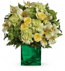 Go Green Vase Arrangement