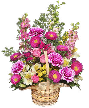 Friendship Blooms Basket of Flowers in West Milford, NJ | WEST MILFORD FLORIST