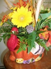 Gobble Gobble Gobble  Thanksgiving arrangement