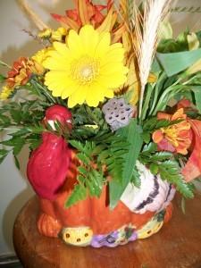 Gobble Gobble Gobble  Thanksgiving arrangement