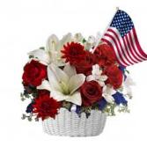 God Bless America Floral Arrangement