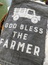 God bless the Farmer towel