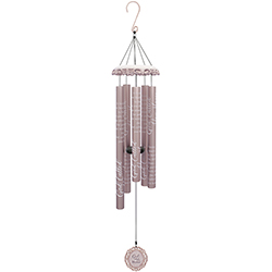 God Called You Wind Chime 62743 Sympathy Keepsake in Du Bois, PA | BRADY STREET FLORIST