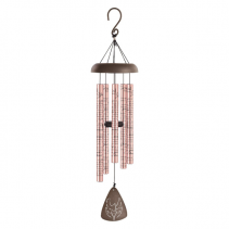 God Has You - Rose Gold small chime  optional stand / flowers