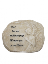 Sympathy Plaque - God Has You In His Keeping