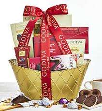 Godiva Chocolate Gift Basket Gift Basket