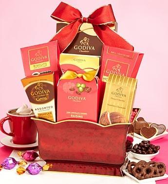 Godiva Chocolate Gift Basket Perfect For Valentine S Day In Hampton