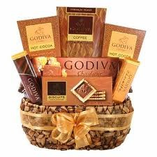 Godiva Chocolate  Medium Gift Basket in Whitesboro, NY | KOWALSKI FLOWERS INC.