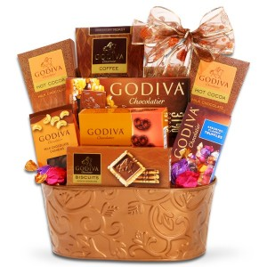 Godiva Chocolate Large Gift Basket in Whitesboro, NY | KOWALSKI FLOWERS INC.
