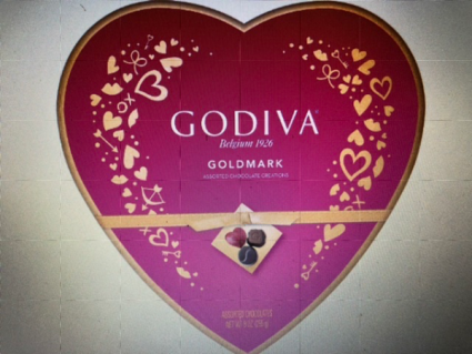 Godiva Chocolates Heart Box -$19.95 - $29.95