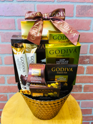GODIVA gift set  in Whittier, CA | Rosemantico Flowers
