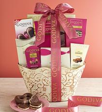 Godiva Sweets Basket