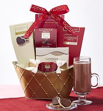 Godiva Valentine Chocolates  Basket