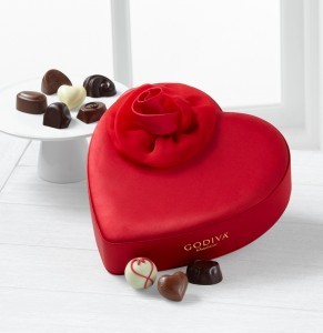 Godiva® Valentine Heart - 15-piece Assorted Choc.