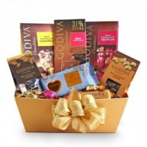 Godivia Chocolate Gift Basket