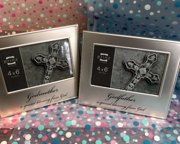 Godparents frame Godparents gifts