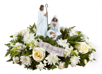 God's Gift of Love Christmas Centerpiece