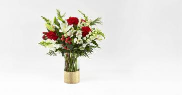 Gold Holiday Bouquet Arrangement