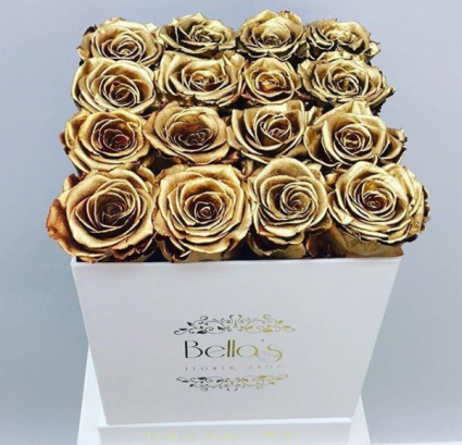 Gold Roses That Last A Year
