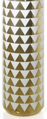 Gold Spade Vase/Candle Holder