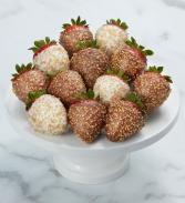 Gold Sparkle Strawberries