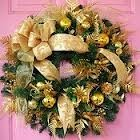 GOLD WREATH Fresh Wreath