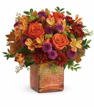 Golden Amber Bouquet  in Mount Pleasant, TX | DESIGNS BY LISA