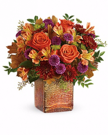 Golden Amber Bouquet Orientation: One-Sided