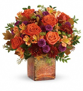 GOLDEN AMBER CUBE T600-B in Wichita Falls, TX | House of Flowers & Gifts