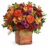 GOLDEN AMBER FRESH ARRANGEMENT