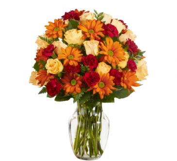 Golden Autumn - 987 Vase arrangement