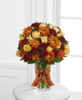Golden Autumn Arrangement