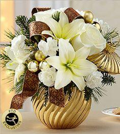 Golden Christmas Bulb
