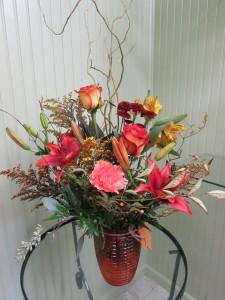 Golden Days Custom Fitzgerald Flowers Arrangement