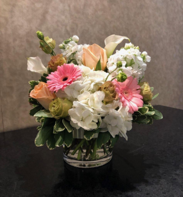 Sweetly Yours Cylinder Vase