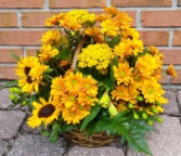 Golden Fall Basket