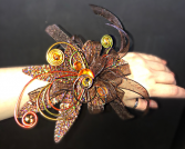 GOLDEN GLORY Prom Corsage