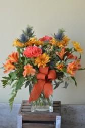 Golden Glow Custom Fitzgerald Flowers Arrangement