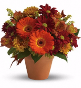 Golden Glow Fall Bouquet