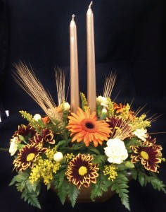Golden Harvest  Centerpiece in Pottstown, PA | NORTH END FLORIST