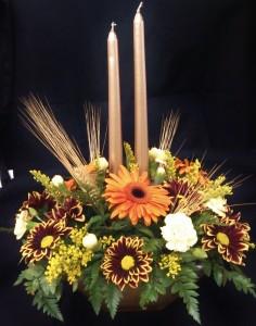 Golden Harvest  Centerpiece in Pottstown, PA | NORTH END FLORIST