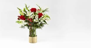 GOLDEN HOLIDAY BOUQUET BY FTD CHRISTMAS