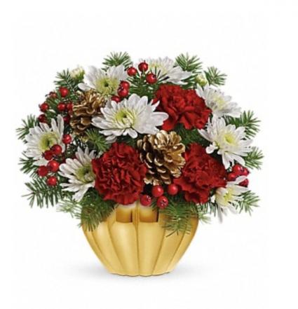Golden Holiday Christmas