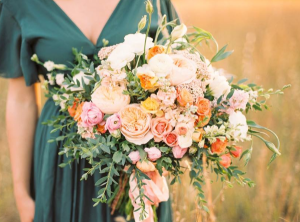 Golden Hour Bridal Bouquet in Clarksville, AR | Vase and Vine